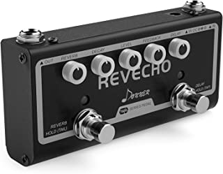 Donner Revecho Guitar Effect Pedal 2 Mode Delay and Reverb Effects Pedal