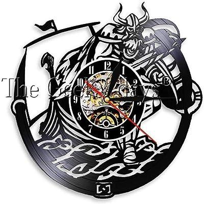 Máquina de tatuaje de 1 pieza Reloj de vinilo Reloj de pared Salón ...