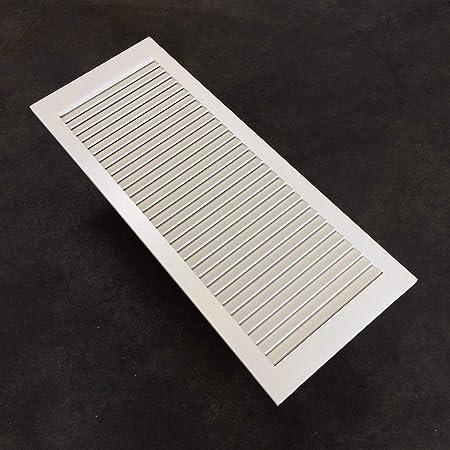 2-er Pack Lamellent/üren mattwei/ß mit offenen Lamellen Kiefernholz 99,3 x 44,4 x 2,1 cm f/ür Regale M/öbel EINBAUFERTIG grundiert /& lackiert Schr/änke