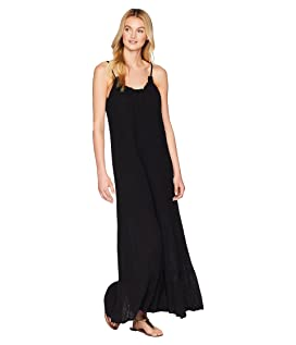 Double Gauze Front To Back Maxi Dress