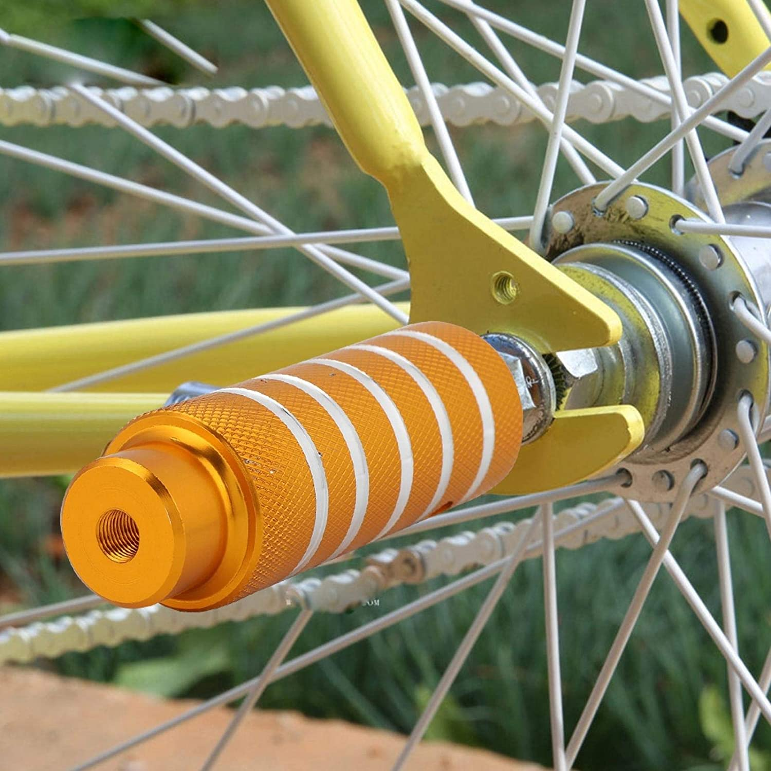 Jazar Sturdy Heavy Duty Bike Stunt Our shop OFFers the best service Accessories Peg Popular overseas Bicycle