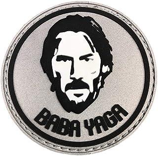 """Violent Little Machine Shop - John Wick""""Baba Yaga"""" PVC Morale Patch"""