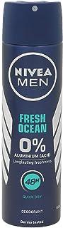 NIVEA MEN Desodorante Spray Nivea Men 0% Aluminio Ocean Men 150 ml