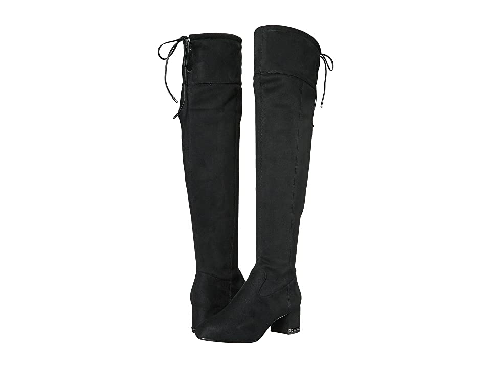 e75d35a4127 191261604073. MICHAEL Michael Kors Jamie Over the Knee Boot (Black Stretch  Suede) ...