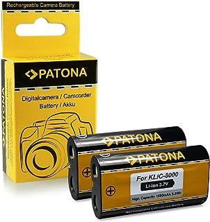 2x Bateria Kodak Klic-8000 / Ricoh DB-50 para Kodak EasyShare Z612 | Z712is | Z812is | Z8612is | Z1012 | Z1012is | Z1015is | Z1085is | Z1485is | Z8612is | Zx1 | RICOH Caplio R1 | R1S