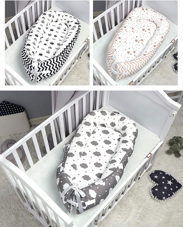 WUQIANG Nid Bébé Nest bébé, bébé Recliner/Lit Portable, très approprié for Voyage et Nap (Color : Gray 2) Brown