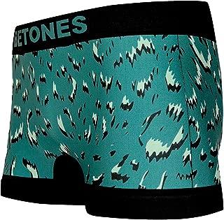 BETONES (ビトーンズ) メンズ ボクサーパンツ LEOPARD GRAY ヒョウ柄 dwearsステッカー入り ローライズ アンダーウェア 無地 ブランド 男性 下着 誕生日 プレゼント