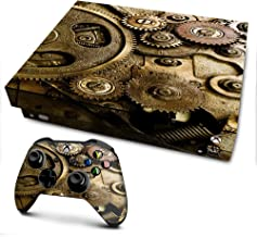 IT'S A SKIN Xbox One X Console & Controller Decal Vinyl Wrap   Steampunk Gears Steam Punk Old