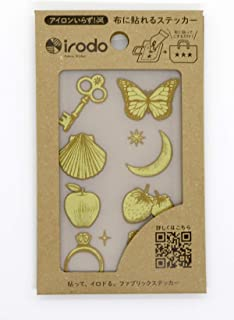 扶桑 irodo ラッキーモチーフ2 ゴールド・ベージュ 90078