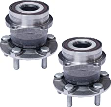 TUCAREST 512401 x2 (Pair) Rear Wheel Bearing and Hub Assembly Compatible Scion FR-S Subaru BRZ Forester Legacy Outback Imp...