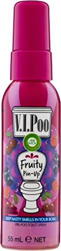 Air Wick VIPoo Toilet Spray Pre-Poo, 55 ml, Fruity Pin Up