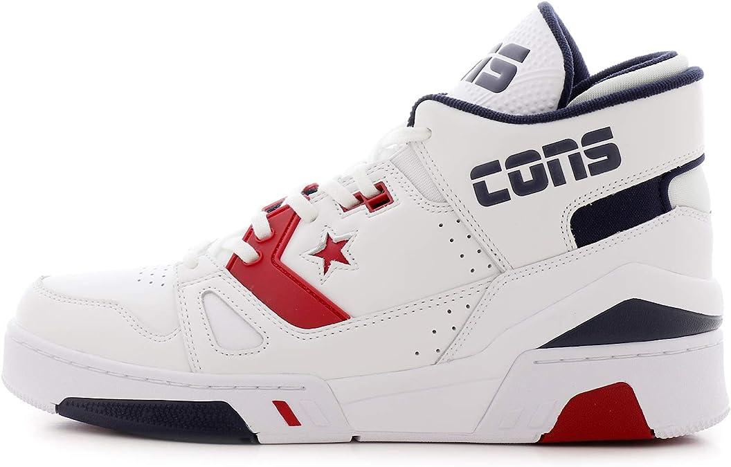 Converse Scarpe da Uomo Sneakers ERX 260 Mid in Pelle Bianca ...