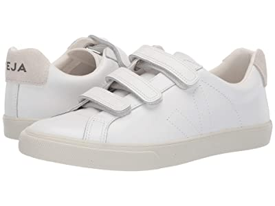 VEJA 3-Lock (Extra White Pierre Leather) Athletic Shoes