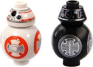 LEGO Star Wars Episode 8 Last Jedi Set of 2 Minifigure - BB-8 & BB-9E Droids