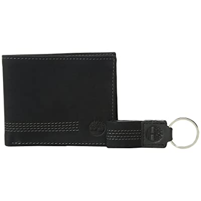 Timberland Icon Boot Blix Slimfold (Black) Wallet