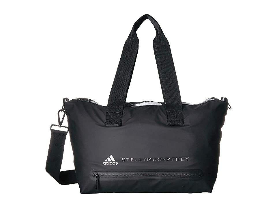 adidas by Stella McCartney Small Studio Bag (Black/White) Bags