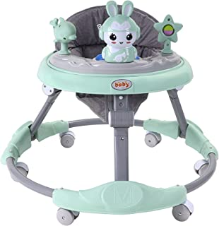 BABY PLUS Baby walker with attractive toys and entertaining sounds/Activity walker/Foldable/Comfortable and safe with roun...