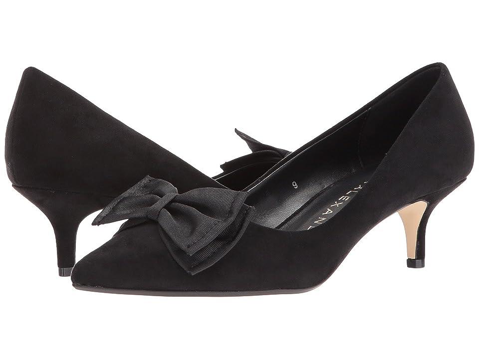 Athena Alexander Tasha (Black Suede) High Heels