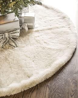 Best ivory fur tree skirt Reviews