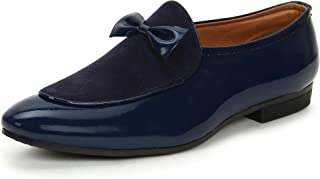 BUWCH Men Formal Synthetic Leather Loafer & Mocassins Shoe