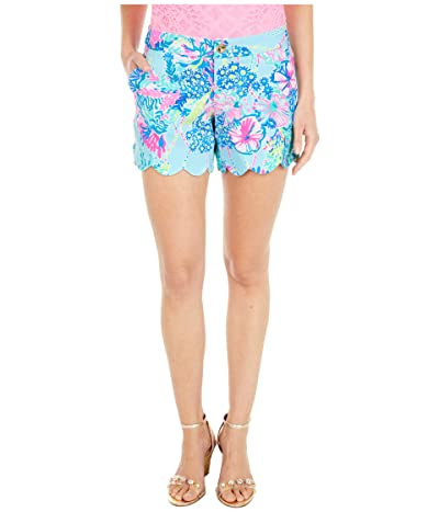 Lilly Pulitzer Buttercup Knit Shorts (Multi Beach You To It) Women