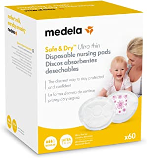 Medela Safe & Dry Ultra Thin - Discos absorbentes
