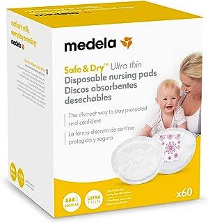 Medela Safe & Dry Ultra Thin - Discos absorbentes