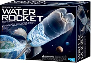 4M Water Rocket Kit - DIY Science Space Stem Toys Gift for Kids & Teens, Boys & Girls