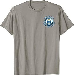 US COAST GUARD USCGA  ACADEMY VVV SHIELD T-Shirt