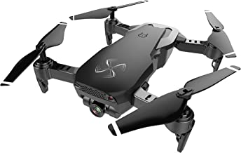 $139 » DRONE-CLONE XPERTS Drone X Pro AIR 4K Ultra HD Dual Camera FPV WiFi Quadcopter Follow Me Mode Gesture Control 2 Batteries Included (Black)