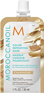 Moroccanoil Color Depositing Mask Packette, Champagne 30ml Travel Size