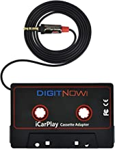 DIGITNOW 3.5mm Car Audio Cassette Adapter for Smartphone/MP3 Player/CD Player/Mini Disk..