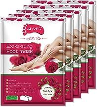 5 Pairs Foot Peel Mask, Exfoliating Callus Peel Booties,Peeling Off Calluses & Dead Skin, Baby Soft Smooth Touch Feet-Men Women (Rose 1)