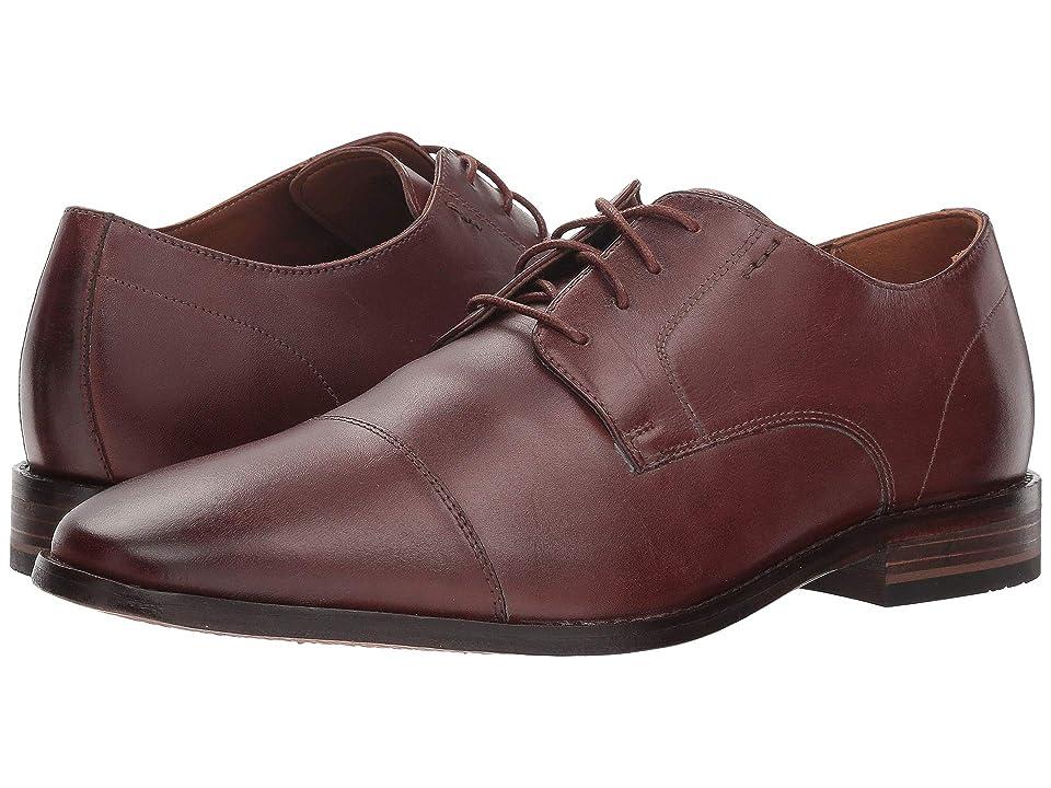 Bostonian Nantasket Cap (British Tan Leather) Men