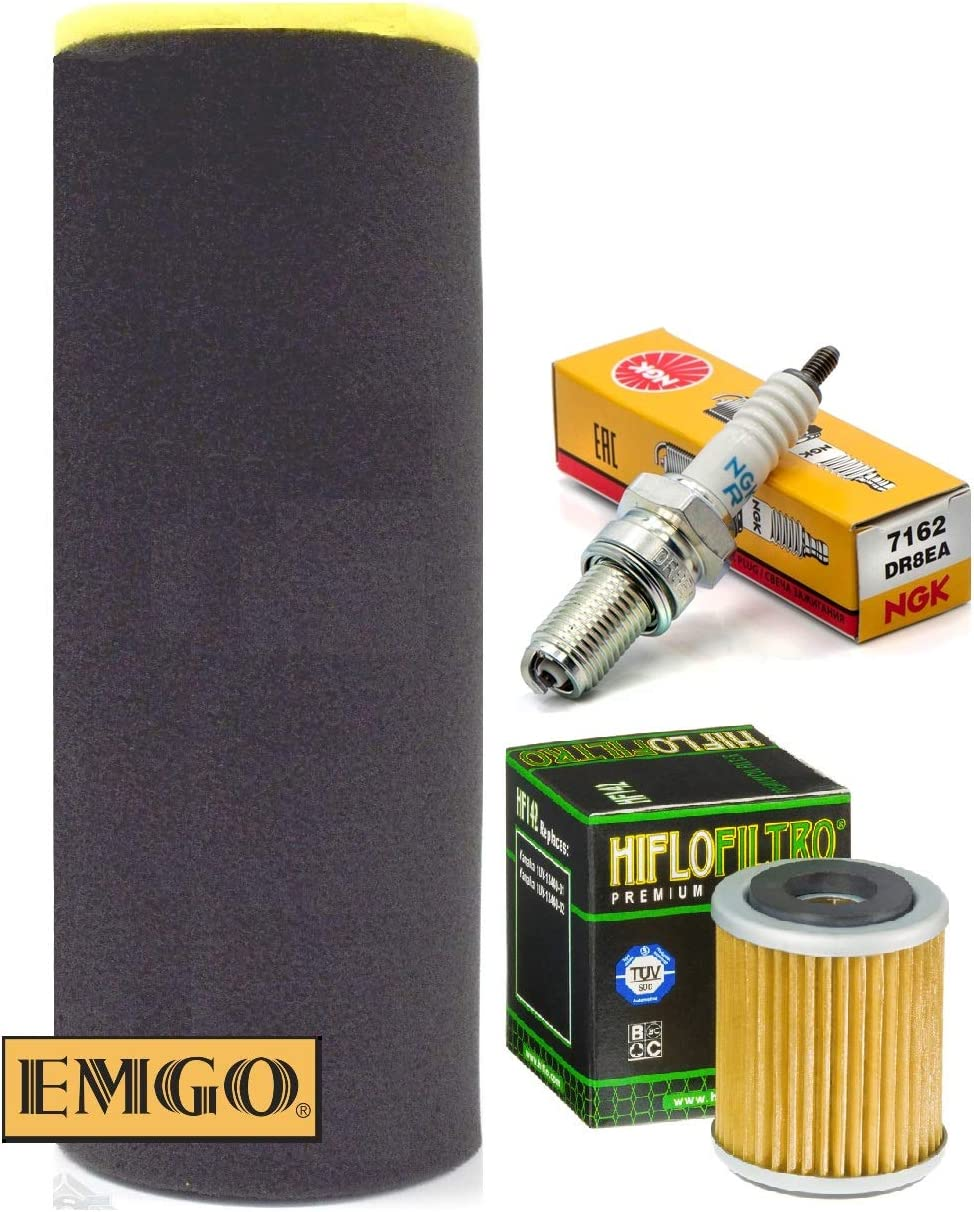 Tune up Kit Oil Today's only Filter Air for Yamaha supreme Spark Plug Warrior