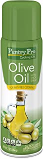 Pantry Pro Olive Oil Cooking Pan Spray, 7 Fluid Ounce (Pack of 4)