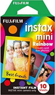 instax mini film, RAINBOW Ram, 10 pack