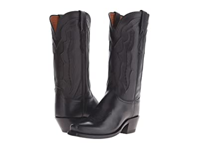 Lucchese Grace (Black) Cowboy Boots