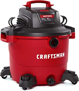 Best CRAFTSMAN CMXEVBE17595 16 Gallon 6.5 Peak HP Wet/Dry Vac, Heavy-Duty Shop Vacuum with Attachments Review