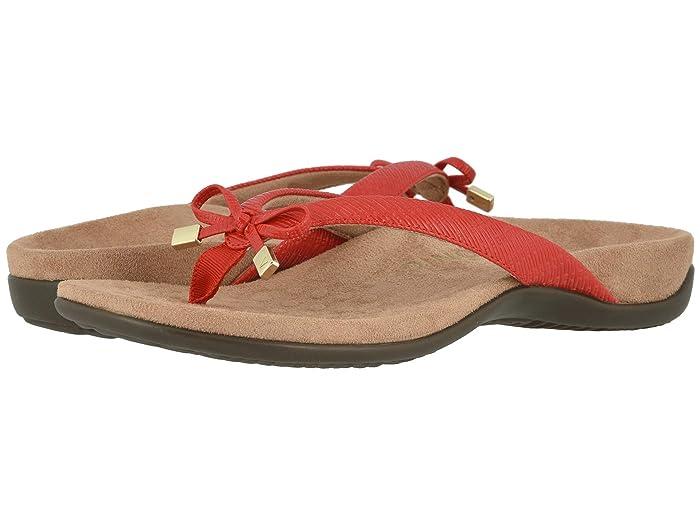 VIONIC  Bella II (Cherry Woven) Womens Sandals