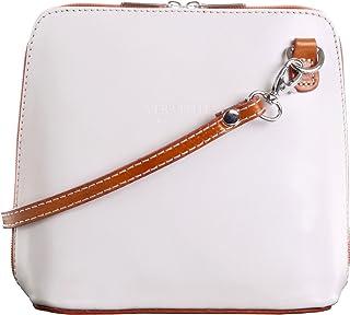 Primo Sacchi® Ladies Italian Leather Hand Made Small/Micro Cross Body Bag or Shoulder Bag Handbag. Includes a Protective Storage Bag.