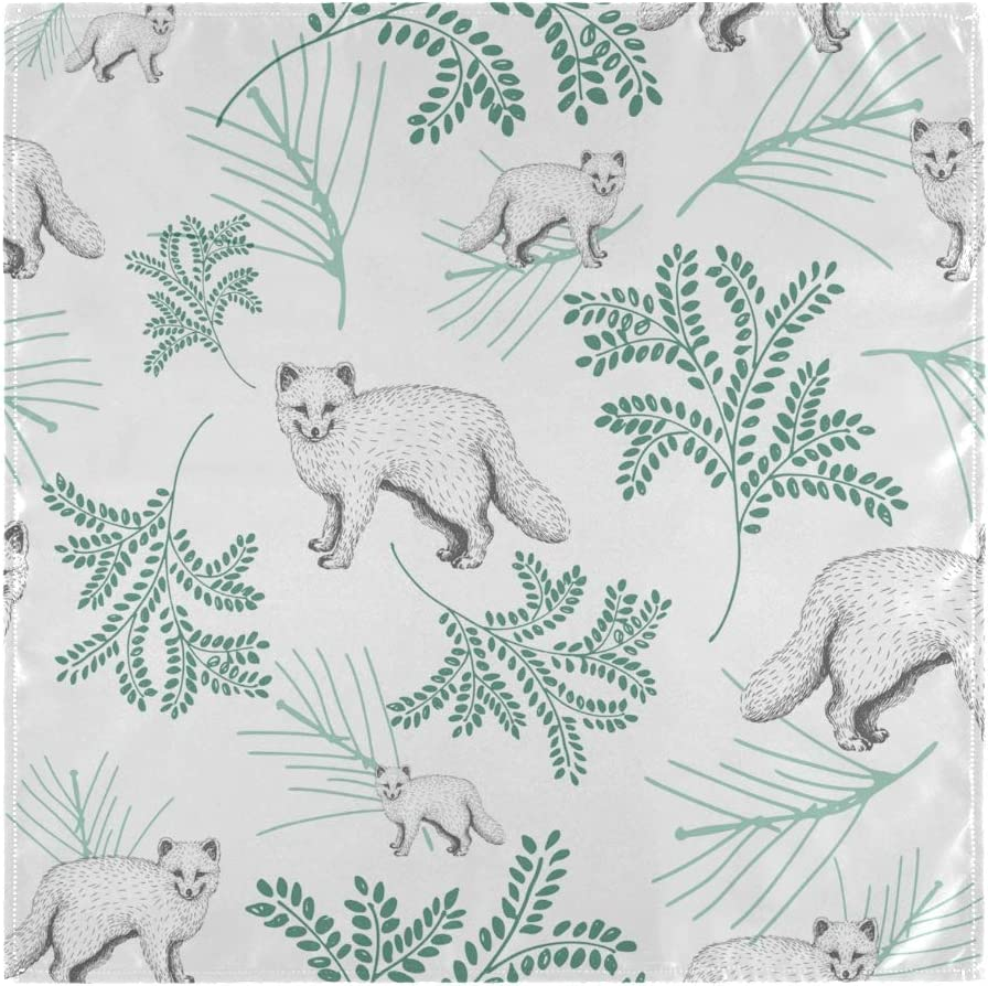Mr.Lucien Napkins Cute Fox Polyeste Pattern Animal Cloth store Fixed price for sale