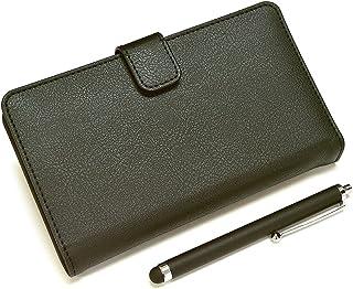 ラスタバナナ Xperia Z4 (docomo SO-03G / au SOV31) タッチペン付手帳型ケース ブラック 1645XPZ4