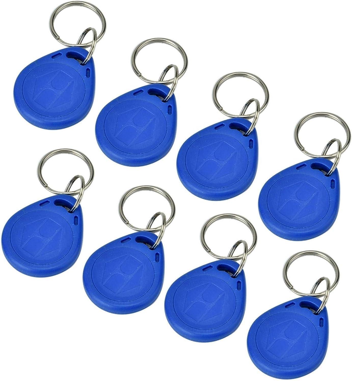 100 PCS Access Control Keyfobs 125KHz Easy-to-use Token EM-ID Tag Tucson Mall RFID Card