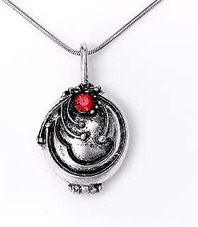 Elena's Vervain Pendant Anti-Vampire Silver Plated Necklace