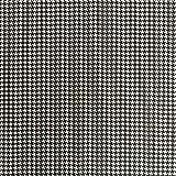 Baumwollstoff Popeline kleines Hahnentritt schwarz weiß -