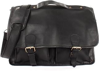 leconi maletín Business bolso Messenger Bag piel vintage mujer hombre piel 38x 28x 8cm le3009