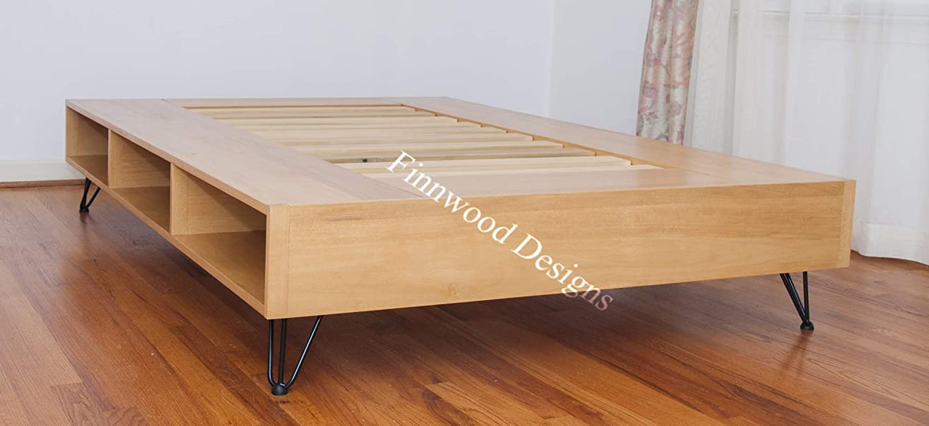 Hairpin Leg Storage Bed