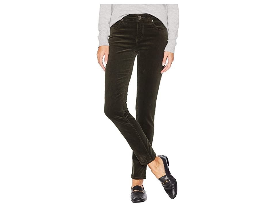KUT from the Kloth Diana Skinny Jeans in Olive (Olive) Women