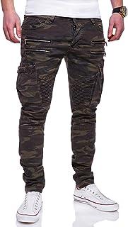 Robelli homme délavé homme coupe slim denim jeans stretch 30 W